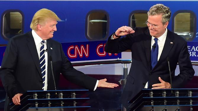 Jeb and Trump