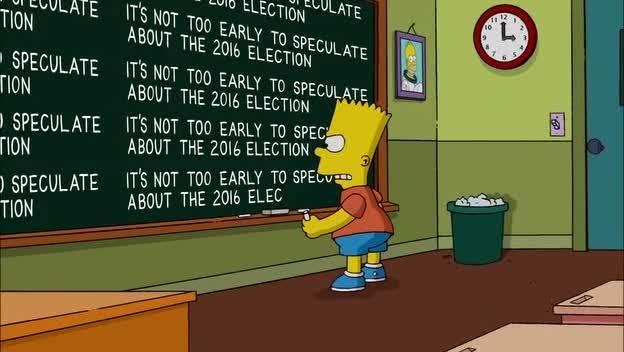 Bart Simpson Election